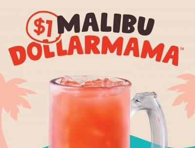 Applebee's Malibu DOLLARMAMA July 2019 Drink Of The Month Will Give You Island Vibes