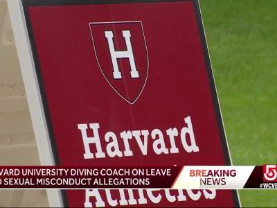 Harvard puts head diving coach on leave amid claims of sexual misconduct