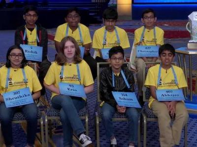 Spelling bee 'octo-champs' describe the night the 'dictionary lost'