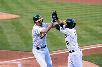 Stephen Piscotty and Ramon Laureano power Athletics to 5-4 win over Blue Jays