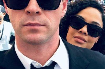 Chris Hemsworth Wraps Shooting on Men in Black, Shares New Set