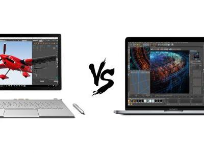 MacBook Pro 2018 vs Surface Book 2: the most premium pro laptops compared