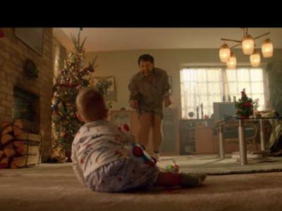 Holiday Ad Captures Sweet 'Dad Dancing' Bond Between Father And Son