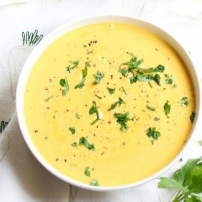 Quick and Healthy Coconut Red Lentil Soup