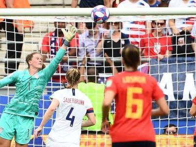 United States Women's National Team concedes first goal of Women's World Cup to Spain on devastating howler