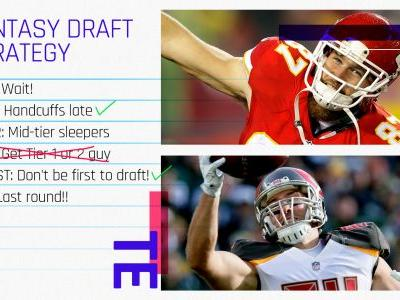 2018 Fantasy Draft Tiers, Strategy: Tight ends