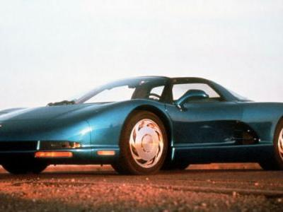 No matter what happens tonight with the C8 Corvette reveal, the 1990 CERV III concept will always be