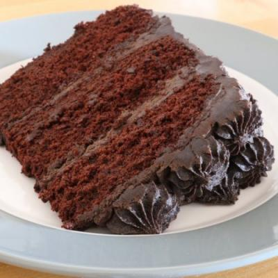 Chocolate Cake with Dark Chocolate
