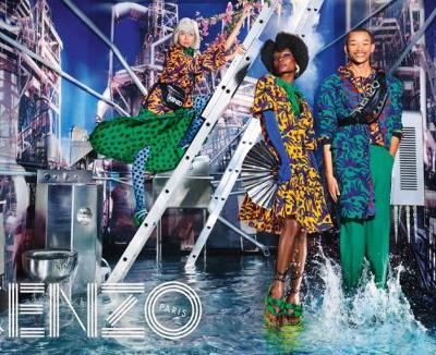 David LaChapelle shoots Humberto Leon's mum for new Kenzo campaign