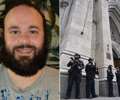 St. Patrick's Cathedral gasoline suspect wrote a book on philosophy