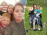 Young mum life ruined by violent tremors due to SPS