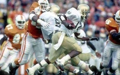 Throwback Thursday: Notre Dame Hangs on to Beat Tennessee