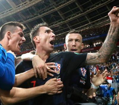 Croatia in World Cup final for 1st time, beats England 2-1