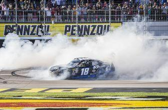 Kyle Busch going for weekend sweep in NASCAR race at Vegas