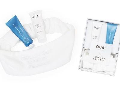 The Ouai x Summer Fridays Masque Set Is The Ultimate Girl Boss Collab For Hair & Skincare Lovers