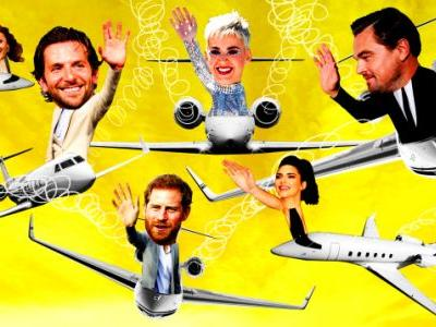 Look at All These Celebrities Fighting Climate Change With Private Jets!