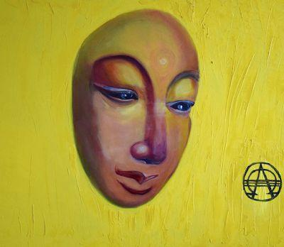 """Environmental Art ,Contemporary Painting """"Parallel Syncretism"""" by International Abstract Realism Artist Arrachme"""