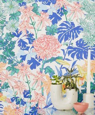 2019 Wants You to Fill Your Home with Bold Print Wallpaper