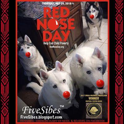 FiveSibes Donned Red Noses to Help End Child Poverty