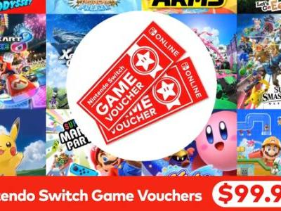 Full details on Nintendo's Switch Game Vouchers
