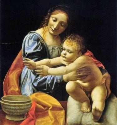 Madonnas attributed to Giovanni Antonio Boltraffio Italian High Renaissance painter, ca.1466-1516
