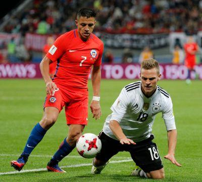 Confederations Cup: Alexis Sanchez makes history as Chile draws with Germany