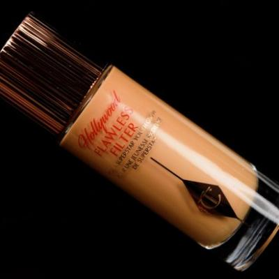 Charlotte Tilbury Tan (5) Hollywood Flawless Filter Review, Photos, Swatches