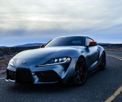 2020 Toyota GR Supra First Production VIN Sells for $2.1 Million USD
