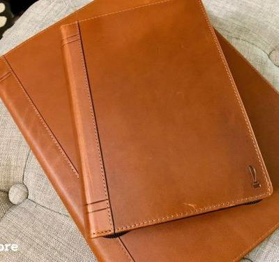 Twelve South's Journal case for MacBook has that executive look