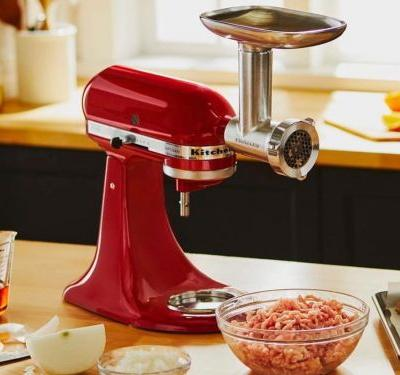How to make sausage with a KitchenAid Stand Mixer