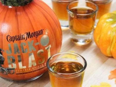 Captain Morgan's Pumpkin Spiced Rum Is Back In Time For Fall