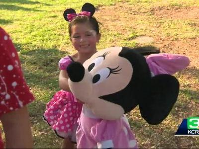 Help from new friends: 5-year-old girl has birthday to remember