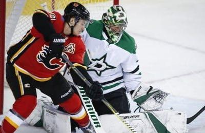 Flames' offence struggles as Stars sweep season series