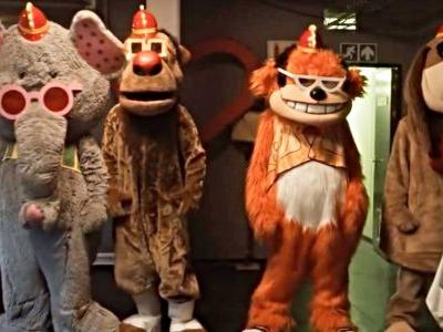 Bonkers Banana Splits Movie Trailer Turns Classic Kids Show Into R-Rated Nightmare