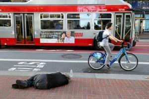 Fight over homelessness divides Bay Area liberals, tech billionaires