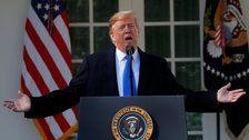 Trump Admits He 'Didn't Need To' Declare National Emergency