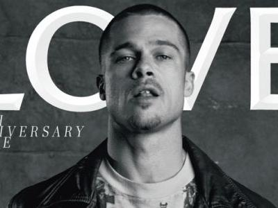 Must Read: Brad Pitt and More Cover 'Love' Anniversary Issue, Magazines Struggle as Ad Spending Disappears