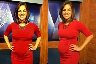 Pregnant news anchor hits back after viewer calls her 'disgusting'