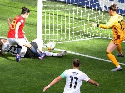Women's World Cup 2019: Germany maintains perfect start with win over Spain