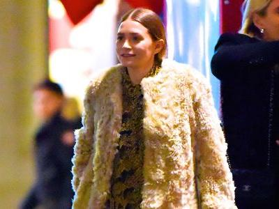 Ashley Olsen Was Spotted Looking Super Chic as She Stepped Out With Friends in New York City