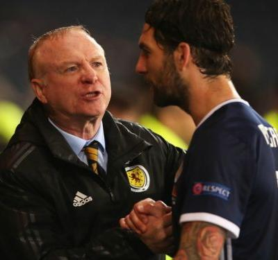 McLeish looks long term after Scotland snap losing run