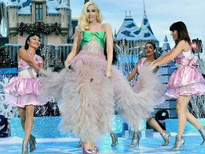 Gwen Stefani Looks Like An IRL Princess During Special Appearance At Disneyland