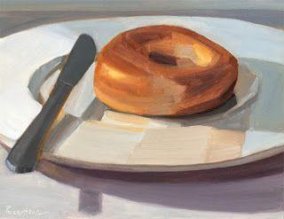 Bagel and Knife
