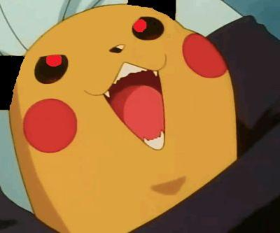 Pikachu originally had an evolution called Gorochu, complete with fangs and horns