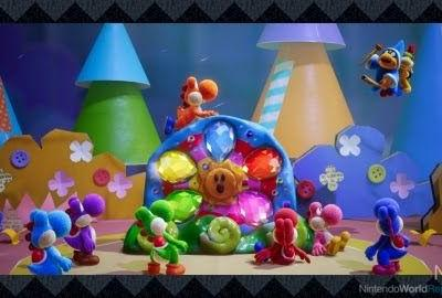 Yoshi's Crafted World, Kirby's Extra Epic Yarn Build March Releases