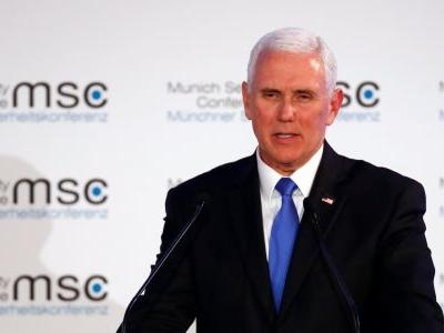 Mike Pence tried to 'bring greetings' from Trump to an audience of world leaders. The silence was deafening