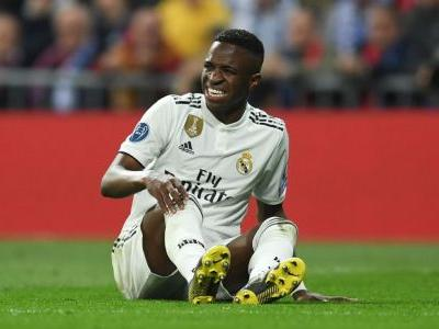 Real Madrid's Vinicius Junior facing two months out with ligament injury