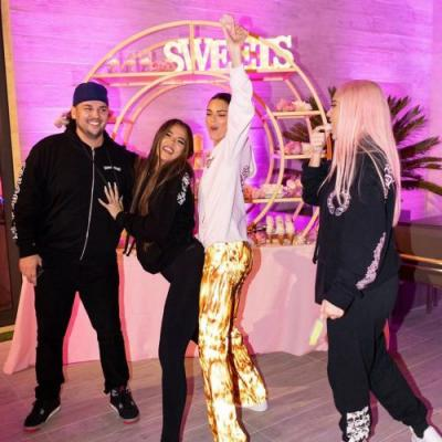 Rob Kardashian Flaunts Weight Loss in Rare Photos With Tristan, Scott and More at Khloe's Birthday