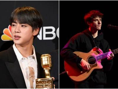 These Photos Of BTS' Jimin At Alec Benjamin's Concert In Korea Are Friendship Goals