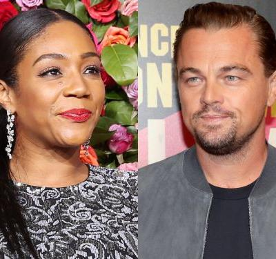 Tiffany Haddish says she hit on Leonardo DiCaprio at a party - and she had an unusual request for the actor